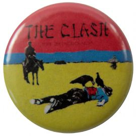 The Clash - 'Give 'em Enough Rope' Button Badge